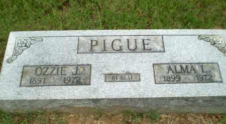 PIGUE, OZZIE J - Greene County, Arkansas | OZZIE J PIGUE - Arkansas Gravestone Photos