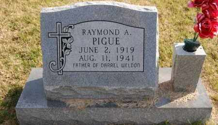 PIGUE, RAYMOND A. - Greene County, Arkansas | RAYMOND A. PIGUE - Arkansas Gravestone Photos