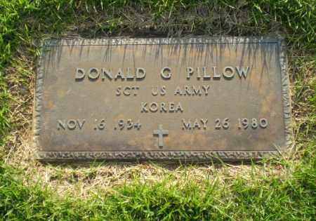 PILLOW  (VETERAN KOR), DONALD C - Greene County, Arkansas | DONALD C PILLOW  (VETERAN KOR) - Arkansas Gravestone Photos