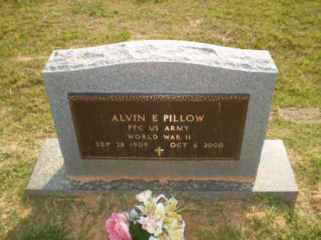 PILLOW  (VETERAN WWII), ALVIN E - Greene County, Arkansas | ALVIN E PILLOW  (VETERAN WWII) - Arkansas Gravestone Photos