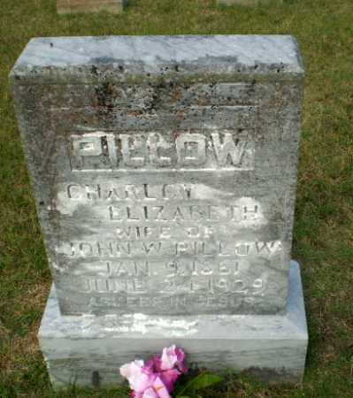 PILLOW, CHARLCY ELIZABETH - Greene County, Arkansas | CHARLCY ELIZABETH PILLOW - Arkansas Gravestone Photos