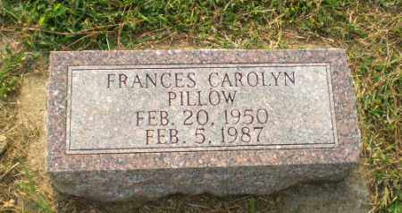 PILLOW, FRANCES CAROLYN - Greene County, Arkansas | FRANCES CAROLYN PILLOW - Arkansas Gravestone Photos