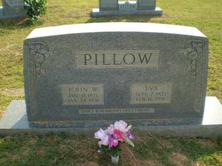 PILLOW, JOHN W - Greene County, Arkansas | JOHN W PILLOW - Arkansas Gravestone Photos