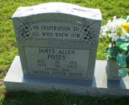 POSEY, JAMES ALLEN - Greene County, Arkansas | JAMES ALLEN POSEY - Arkansas Gravestone Photos