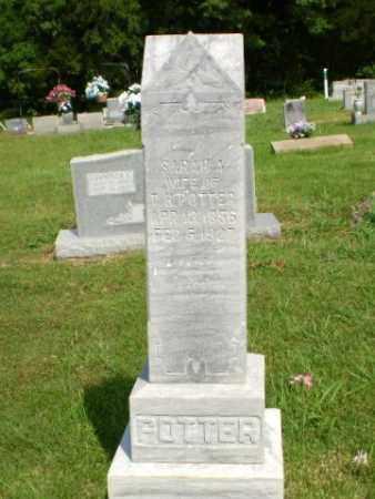 POTTER, SARAH A - Greene County, Arkansas | SARAH A POTTER - Arkansas Gravestone Photos
