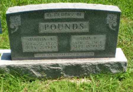 POUNDS, MARTHA J - Greene County, Arkansas | MARTHA J POUNDS - Arkansas Gravestone Photos