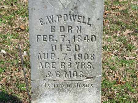 POWELL, E. W. - Greene County, Arkansas | E. W. POWELL - Arkansas Gravestone Photos