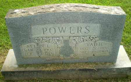 POWERS, ALLEN L - Greene County, Arkansas | ALLEN L POWERS - Arkansas Gravestone Photos