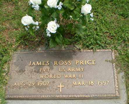 PRICE  (VETERAN WWII), JAMES ROSS - Greene County, Arkansas | JAMES ROSS PRICE  (VETERAN WWII) - Arkansas Gravestone Photos
