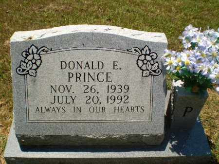 PRINCE, DONALD E - Greene County, Arkansas | DONALD E PRINCE - Arkansas Gravestone Photos