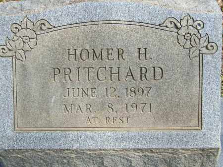 PRITCHARD, HOMER H. - Greene County, Arkansas | HOMER H. PRITCHARD - Arkansas Gravestone Photos