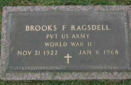RAGSDELL (VETERAN WWII), BROOKS F - Greene County, Arkansas | BROOKS F RAGSDELL (VETERAN WWII) - Arkansas Gravestone Photos