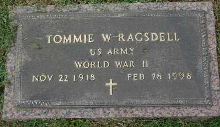RAGSDELL (VETERAN WWII), TOMMIE W - Greene County, Arkansas | TOMMIE W RAGSDELL (VETERAN WWII) - Arkansas Gravestone Photos