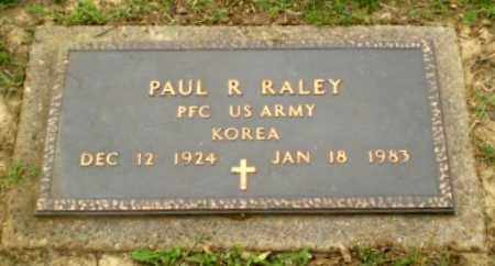 RALEY  (VETERAN KOR), PAUL R - Greene County, Arkansas | PAUL R RALEY  (VETERAN KOR) - Arkansas Gravestone Photos