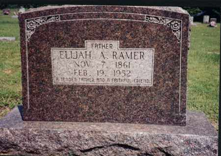 RAMER, ELIJAH A. - Greene County, Arkansas | ELIJAH A. RAMER - Arkansas Gravestone Photos
