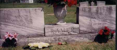 RAMER, MINNIE - Greene County, Arkansas | MINNIE RAMER - Arkansas Gravestone Photos