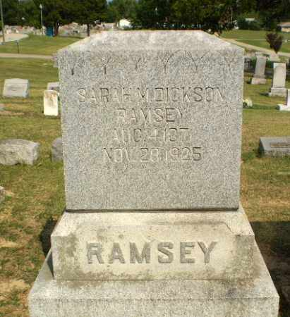 DICKSON RAMSEY, SARAH M - Greene County, Arkansas | SARAH M DICKSON RAMSEY - Arkansas Gravestone Photos