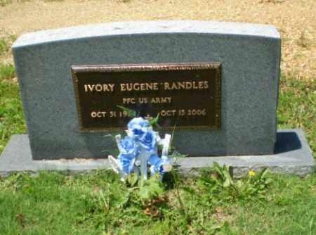 RANDLES (VETERAN), IVORY EUGENE - Greene County, Arkansas | IVORY EUGENE RANDLES (VETERAN) - Arkansas Gravestone Photos