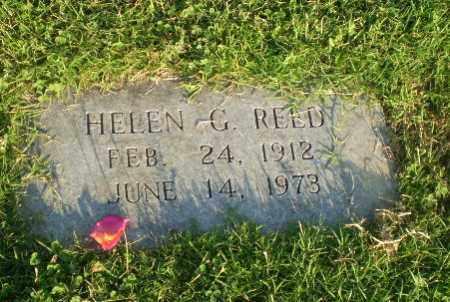REED, HELEN G - Greene County, Arkansas | HELEN G REED - Arkansas Gravestone Photos