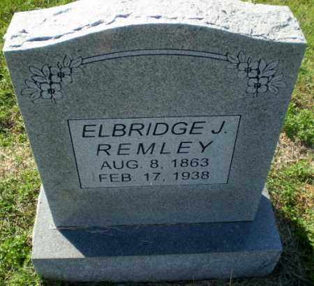 REMLEY, ELBRIDGE J - Greene County, Arkansas   ELBRIDGE J REMLEY - Arkansas Gravestone Photos