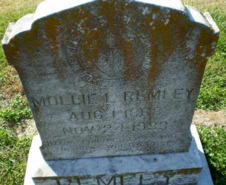 REMLEY, MOLLIE L - Greene County, Arkansas | MOLLIE L REMLEY - Arkansas Gravestone Photos