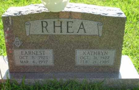 RHEA, KATHRYN - Greene County, Arkansas | KATHRYN RHEA - Arkansas Gravestone Photos