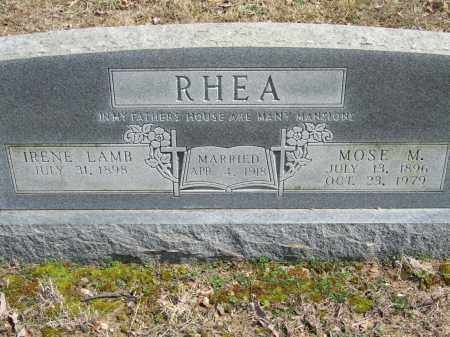 RHEA, MOSE M. - Greene County, Arkansas | MOSE M. RHEA - Arkansas Gravestone Photos