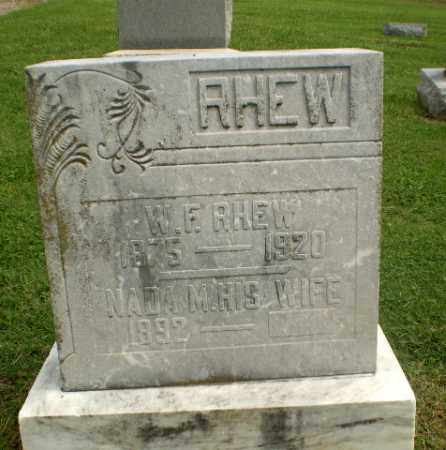 RHEW, W.F. - Greene County, Arkansas | W.F. RHEW - Arkansas Gravestone Photos
