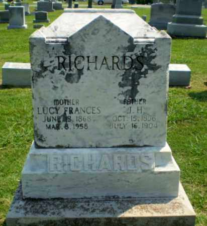 RICHARDS, J.H. - Greene County, Arkansas | J.H. RICHARDS - Arkansas Gravestone Photos