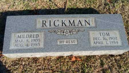 RICKMAN, TOM - Greene County, Arkansas | TOM RICKMAN - Arkansas Gravestone Photos