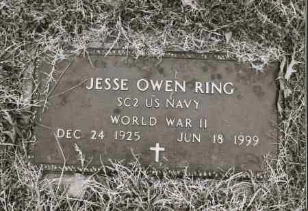RING  (VETERAN WWII), JESSE OWEN - Greene County, Arkansas | JESSE OWEN RING  (VETERAN WWII) - Arkansas Gravestone Photos