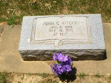 RITCHEY, JOHN C - Greene County, Arkansas | JOHN C RITCHEY - Arkansas Gravestone Photos