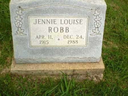 ROBB, JENNIE LOUISE - Greene County, Arkansas | JENNIE LOUISE ROBB - Arkansas Gravestone Photos
