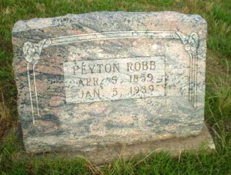 ROBB, PEYTON - Greene County, Arkansas | PEYTON ROBB - Arkansas Gravestone Photos
