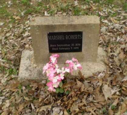 ROBERTS, MARSHEL - Greene County, Arkansas | MARSHEL ROBERTS - Arkansas Gravestone Photos