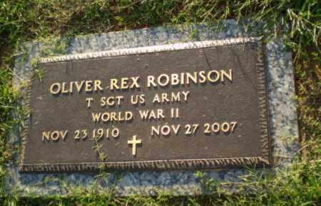 ROBINSON (VETERAN WWII), OLIVER REX - Greene County, Arkansas | OLIVER REX ROBINSON (VETERAN WWII) - Arkansas Gravestone Photos