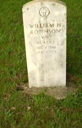ROBINSON  (VETERAN), WILLIAM - Greene County, Arkansas | WILLIAM ROBINSON  (VETERAN) - Arkansas Gravestone Photos