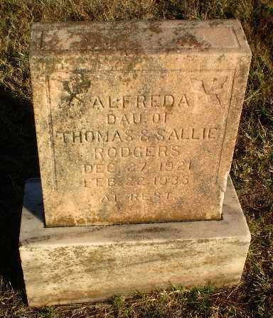 RODGERS, ALFREDA - Greene County, Arkansas | ALFREDA RODGERS - Arkansas Gravestone Photos