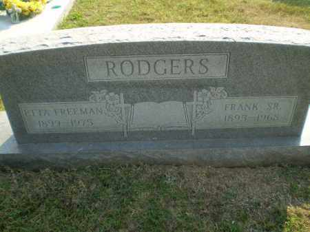 RODGERS, SR, FRANK - Greene County, Arkansas | FRANK RODGERS, SR - Arkansas Gravestone Photos