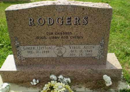 RODGERS, VIRGIL ALLEN - Greene County, Arkansas | VIRGIL ALLEN RODGERS - Arkansas Gravestone Photos