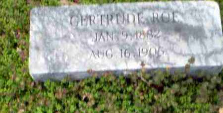 ROE, GERTRUDE - Greene County, Arkansas | GERTRUDE ROE - Arkansas Gravestone Photos
