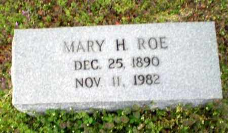 ROE, MARY H - Greene County, Arkansas | MARY H ROE - Arkansas Gravestone Photos