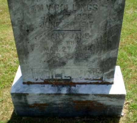 ROLLINGS, M.V. - Greene County, Arkansas | M.V. ROLLINGS - Arkansas Gravestone Photos