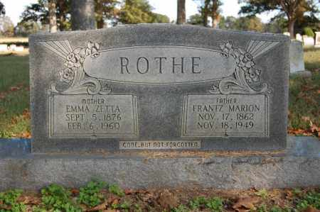 ROTHE, FRANTZ MARION - Greene County, Arkansas | FRANTZ MARION ROTHE - Arkansas Gravestone Photos