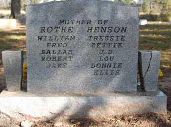 ROTHE, HENSON, MYRTLE CALLIE - Greene County, Arkansas | MYRTLE CALLIE ROTHE, HENSON - Arkansas Gravestone Photos
