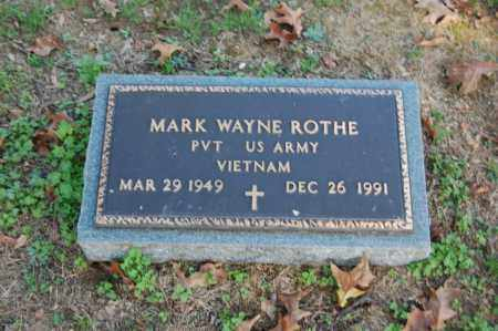 ROTHE (VETERAN VIET), MARK WAYNE - Greene County, Arkansas | MARK WAYNE ROTHE (VETERAN VIET) - Arkansas Gravestone Photos