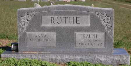 ROTHE, RALPH - Greene County, Arkansas | RALPH ROTHE - Arkansas Gravestone Photos