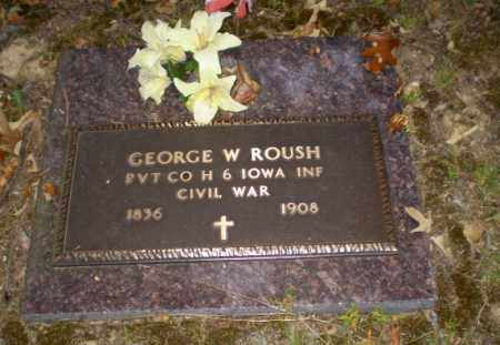 ROUSH  (VETERAN UNION), GEORGE W - Greene County, Arkansas | GEORGE W ROUSH  (VETERAN UNION) - Arkansas Gravestone Photos