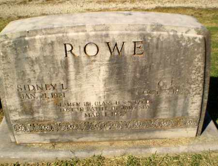 ROWE (VETERAN WWII, KIA), SIDNEY L - Greene County, Arkansas | SIDNEY L ROWE (VETERAN WWII, KIA) - Arkansas Gravestone Photos