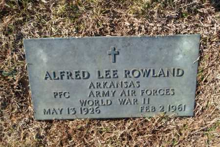 ROWLAND  (VETERAN WWII), ALFRED LEE - Greene County, Arkansas | ALFRED LEE ROWLAND  (VETERAN WWII) - Arkansas Gravestone Photos